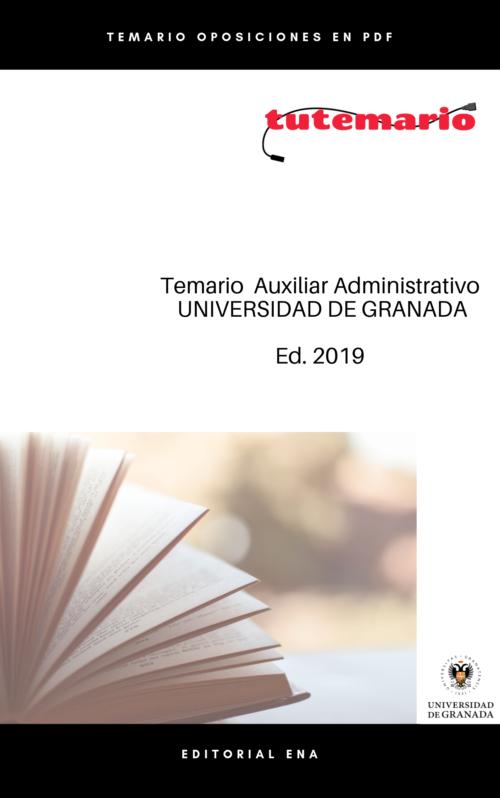 83 plazas auxiliar administrativo Universidad de Granada
